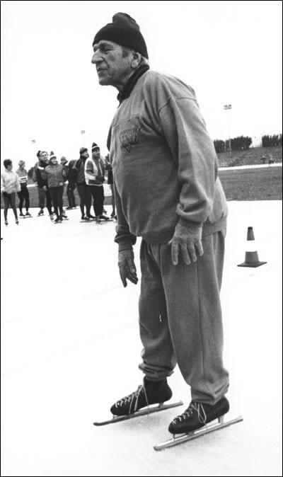 Janusz Kalbarczyk - zwycięzca Mistrzostw Polski w wieloboju w Pruszkowie w latach 1938, 1946 -1948