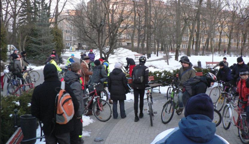 Masa Krytyczna w Pruszkowie w 2013 roku