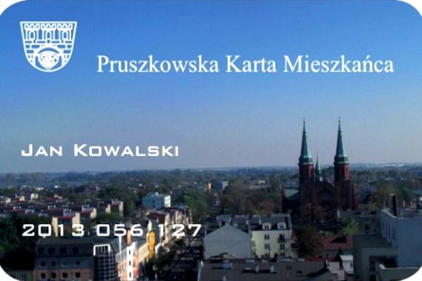 Rok temu Miasto na serio myślało o wprowadzeniu Pruszkowskiej Karty Mieszkańca - materiał prasowy ze stycznia 2013