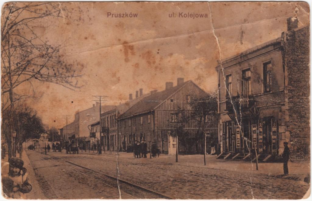 ul.Kosciuszki_Pruszkow_1910_pocztówka
