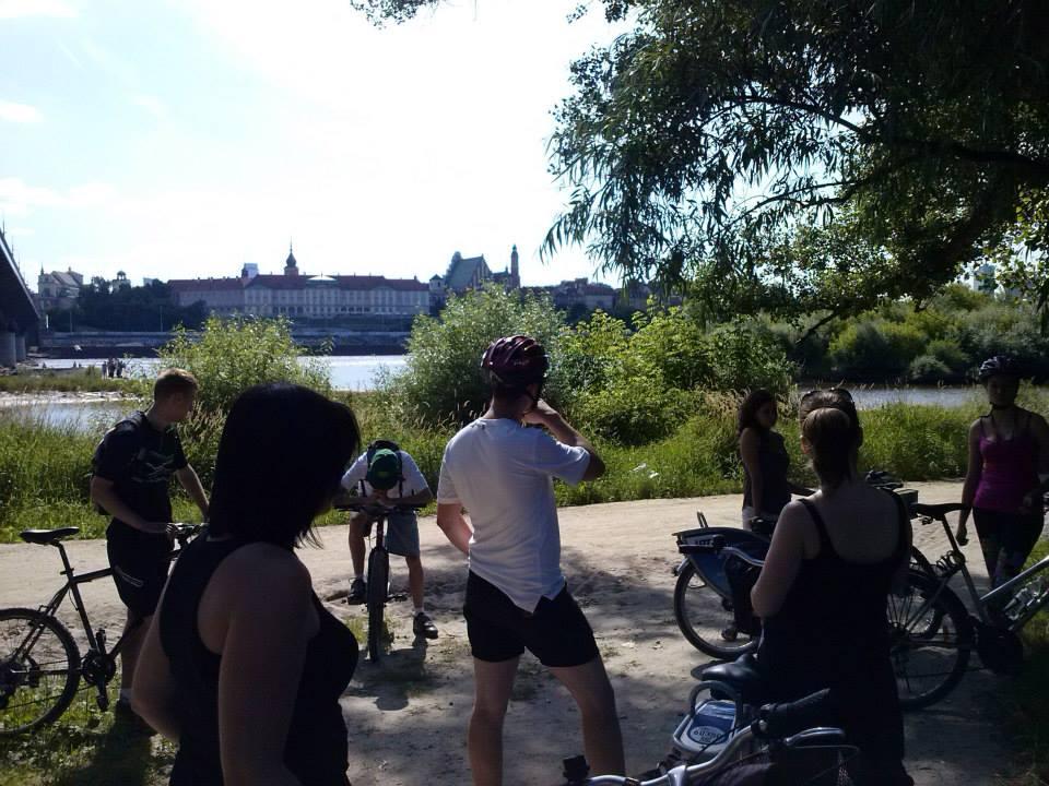 Fot. www.terazrower.pl - wycieczka po Warszawie z Fundacją Varsaviana