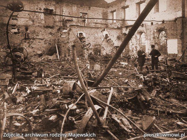 Zniszczenia podczas I wojny światowej
