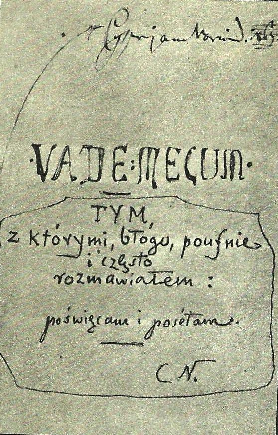 7.R─Ökopis Vade-mecum Norwida